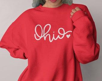 Ohio Sweatshirt for Her or Him | Ohio Sweatshirt | Ohio State Sweatshirt | Ohio Script Shirt | Ohio State Shirt | Ohio State Gift