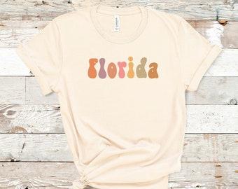 Retro Florida Shirt | Florida Pride | Florida Love | Florida Vacation Shirt | Orlando Shirt | Miami Shirt | Everglades National Park |