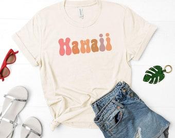 Hawaii Shirt | Hawaii Vacation | Hawaiian Shirt | Retro Hawaii | Island Life Shirt | Hawaii Travel Shirt | Aloha Shirt | Surfer Shirt