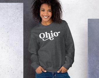 Ohio Sweatshirt for Her or Him | Ohio Sweatshirt | State Ohio Sweatshirt | Retro Style Sweatshirt | Buckeyes Gift | Football Sweatshirt