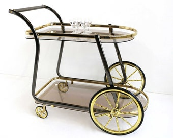 Super Vintage bar cart | Etsy US-37