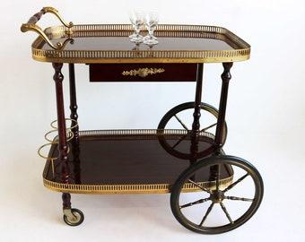 Fonkelnieuw Vintage bar cart | Etsy CS-28