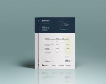 invoice template ms word psd invoice minimal invoice corporate invoice template