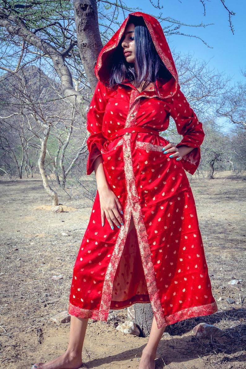 Handmade Red Kimono