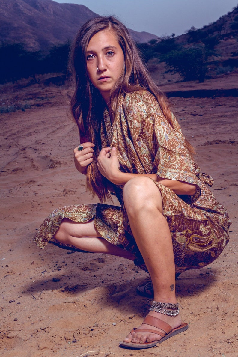 Majestic Silk Robe