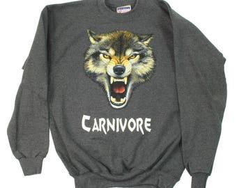 Men's Carnivore Wolf Sweatshirt