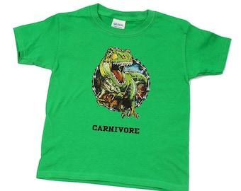 Kids Cotton Carnivore Tee