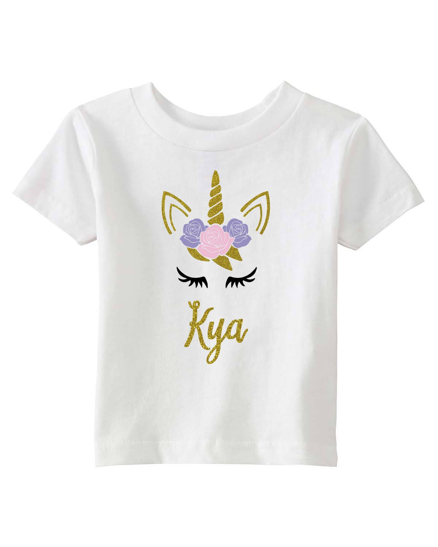 unicorn shirt girls unicorn tshirt unicorn birthday shirt