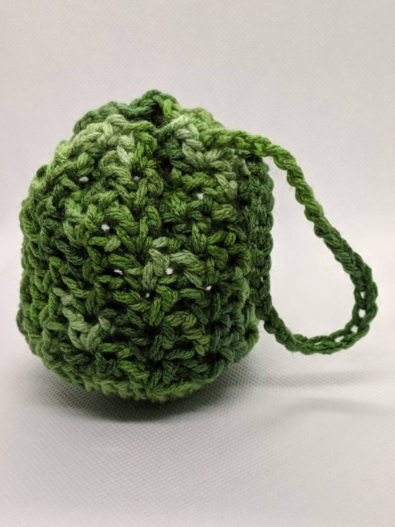 Moss Green Dice Bag Fishing Net Dragon Skin Coin Purse Change Purse Ditty Bag Wristlet Tabletop Gaming Polyhedral Dice RPG Gift for Gamer