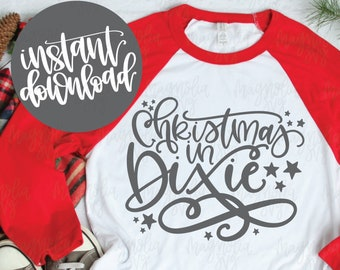 Christmas In Dixie Svg.Christmas In Dixie Etsy