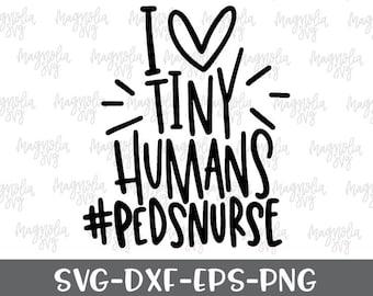 Pediatric Nurse Svg Etsy