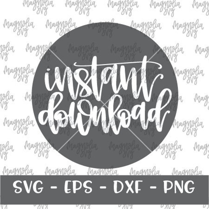 SVG Cut file for Silhouette and Cricut Instant Download Graphic Handlettered SVG Hand Lettered svg Graphic Instant Download Cut File