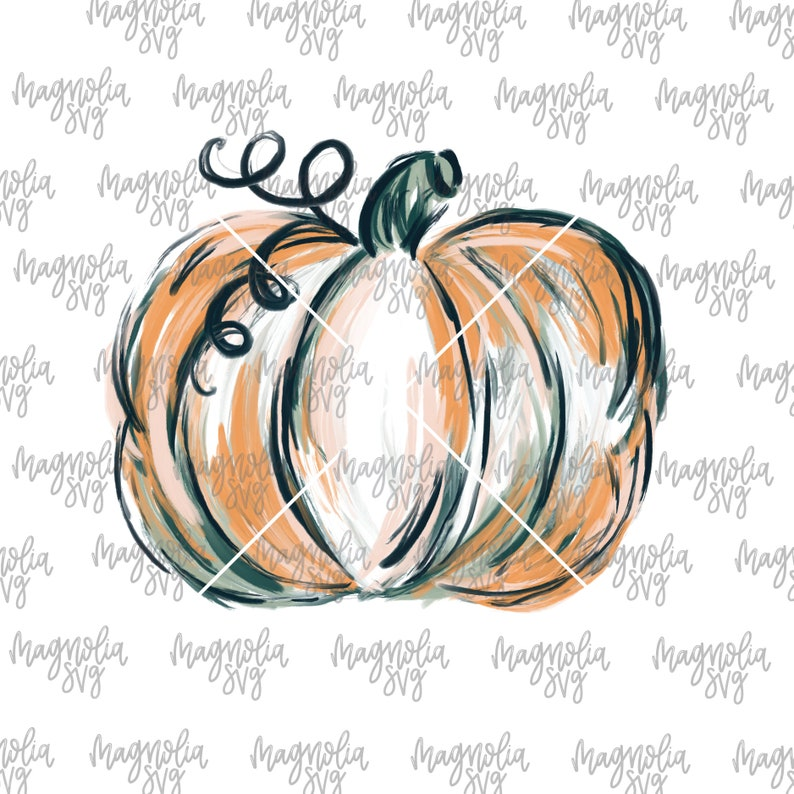Sub Transfer File for T-shirts Fall Watercolor Pumpkin Graphic File for Sublimation Printing Fall Graphic Pumpkin Clip Art for Apparel