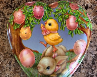 Lovely Easter Canister Great For Filling With Easter Treats