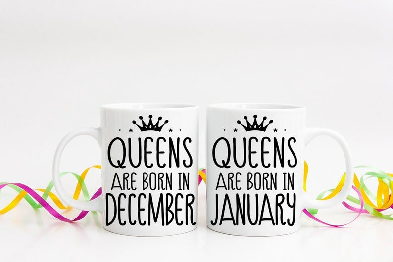 December Birthday Gift Mug For Her Best Friend