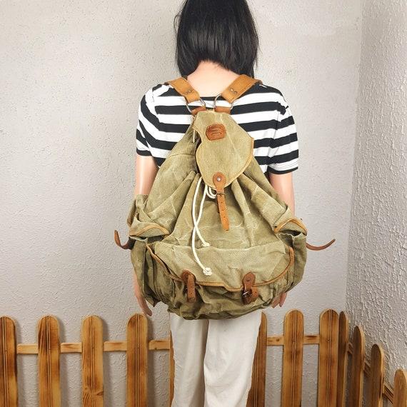 Hunting backpack, Vintage backpack, Backpack, Moun
