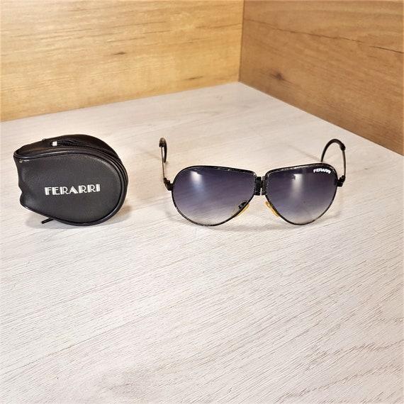 1ab4a5d3e3 Folding sunglasses Vintage sunglasses Ferarri Unisex frames