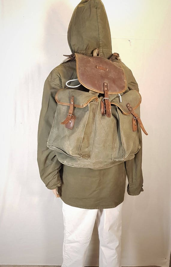 Vintage backpack, Backpack, Hunting backpack, Moun