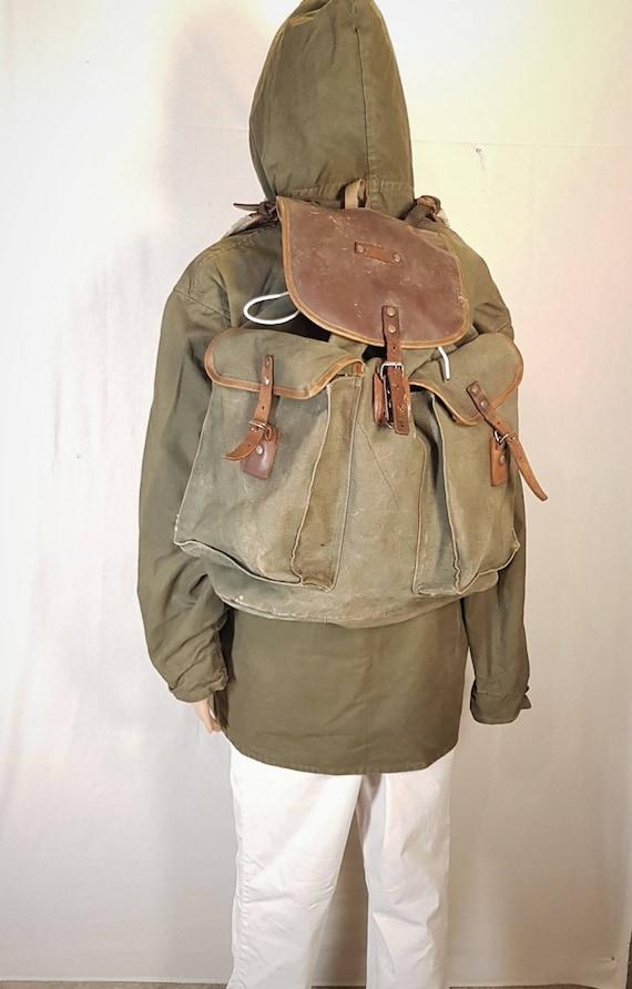 Vintage backpack, Backpack, Hunting backpack, Moun