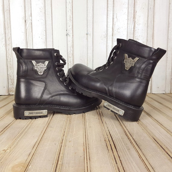 Mens leather boots, Vintage boots, Black boots, Me