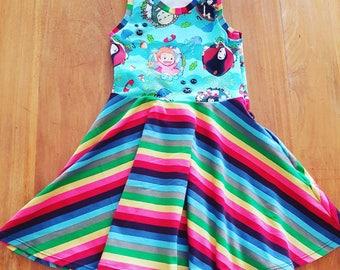 CUSTOM MADE Skater Dress, sizes 2 to 14
