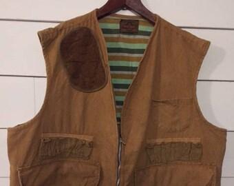 Vintage Saf-T-Bak Hunting Vest