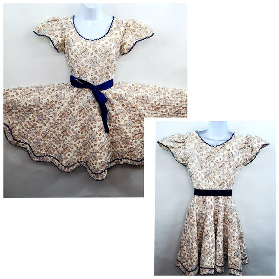 Vintage The Square Dance Dress Co. Dress Size 6