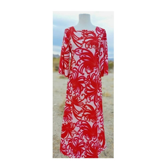 Vintage Sears Hawaiian Fashions Hawaiian Print Dre
