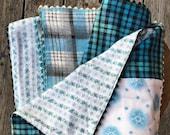 Cotton Flannel Patchwork Baby Blanket