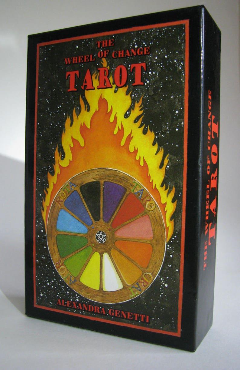 Wheel of Change Tarot by Alexandra Genetti, Tarot Cards, Pagan Tarot Deck,  Wiccan Tarot,