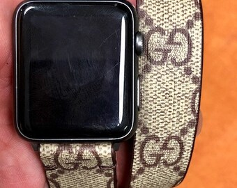 Gucci apple watch band, Apple watch straps, Gucci Apple watch band, Series 1, 2, 3 and 4 Double Tour