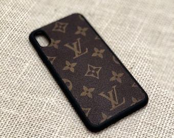 louis vuitton iphone case etsylouis vuitton case lv case iphone x xs iphone 8 , iphone xs max xr , iphone 7, iphone 8 plus lv classic brown