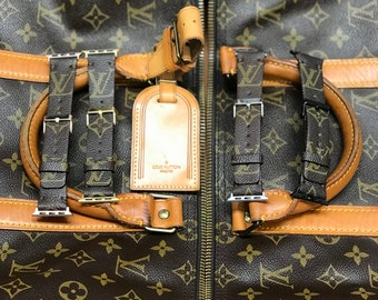 LV, apple watch band, LV monogram, Apple watch straps, Lv Apple watch band, Series 1, 2, and 3, 4 louis vuitton apple watch band wL