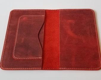 Passport Wallet, Leather Passport Wallet, Passport Case, Card  Holder, Leather Card Holder, Passport Holder, Personalized Passport Wallet