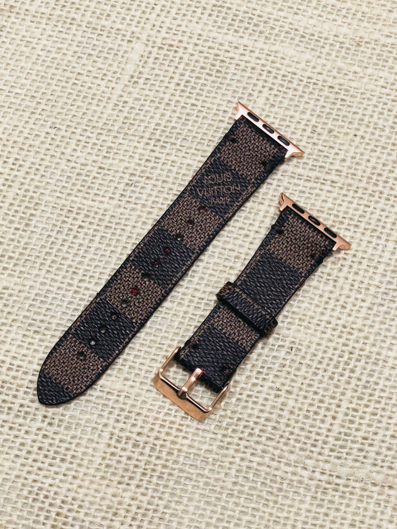 LV apple watch band Damier Ebene Apple watch straps Lv  76e336b125e46
