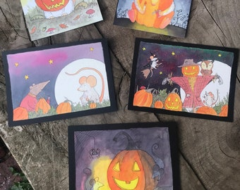 Vintage Style Collectors Halloween Post Cards | Limited Edition World-Wide