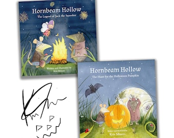 Signed and Illustrated Hornbeam Hollow Books (Book 1 & 2)