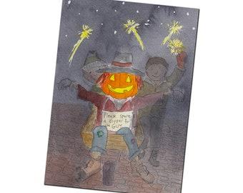 Bonfire Night Greetings Card - Celebrating November the 5th