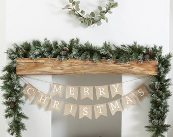 festive foliage garland rustic christmas tradition garland christmas garland mantel swag fireplace decor pinecone christmas centrepie - Garland Christmas Decor