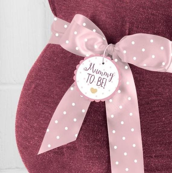 BABY SHOWER SASH MUMMY TO BE SASH MUM PARTY New Pink
