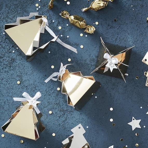 Gold Advent Calendar Fill Your Own Advent Calendar Diy Etsy