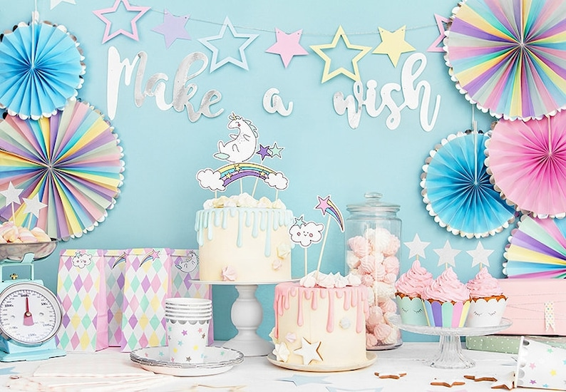 Unicorn Party In A Box Unicorn Party Box Unicorn Party Kit image 0