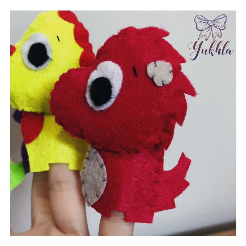Finger puppets Activity toy Educational game Educational nursery Toddler game Dinosaurs Dinosaurs toy Pretend play Puppets children Puppets