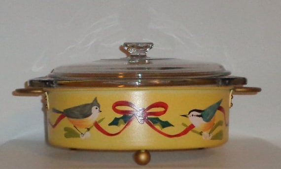 New lenox winter greetings everyday covered casserole dish in m4hsunfo