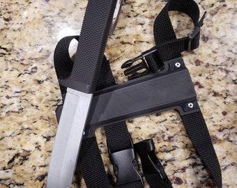 Deadpool 2 knife and sheath