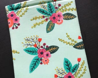 Spring Time Floral Book Sleeve