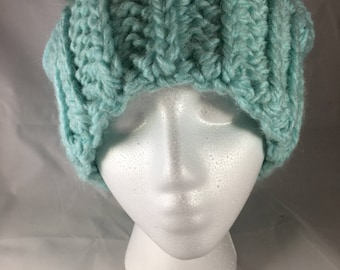 Slouchy Hat *soft warm thick alpaca*