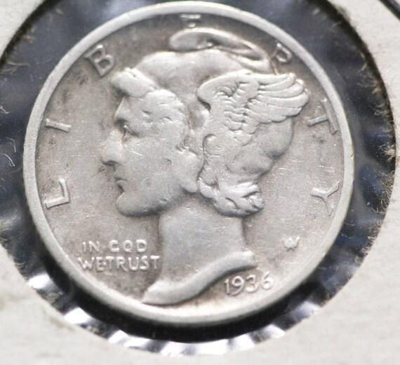1943 P 10C Mercury Dime 90/% Silver US Coin BU FREE SHIP