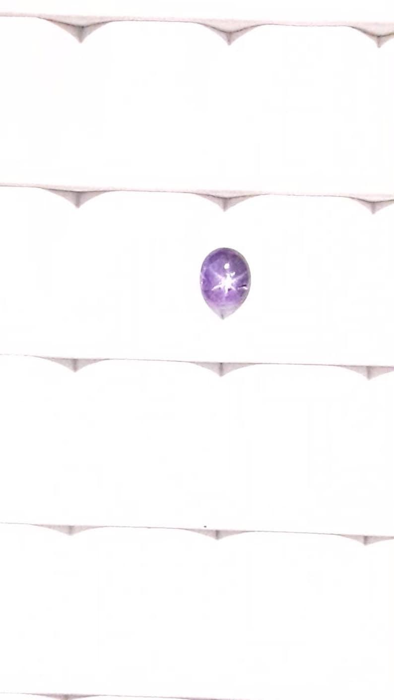 Oval loose GIA certificate Untreated 1.17ct Star Sri Lanka sapphire Natural Lavender Purple Ceylon