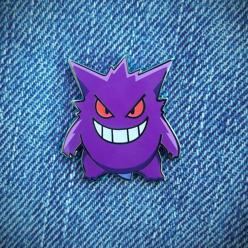 Gengar Pokemon Enamel Pin Gotta Catch Em All Pokemon Go  4b12e7668f06